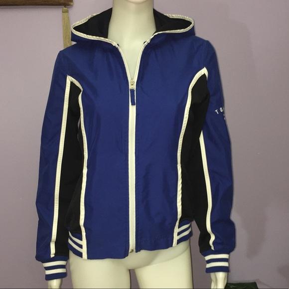 75c5682a1 Tommy Hilfiger Jackets & Coats | Vintage Womens Windbreaker Jacket ...
